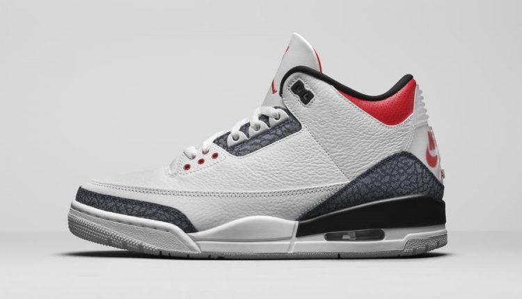 Air Jordan 3 raw denim