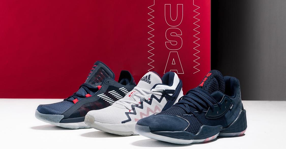 Cuerpo recurso renovable Dedos de los pies  官方新聞/ 經典色系搭星旗元素adidas Basketball 簽名鞋推出USA Pack – KENLU.net