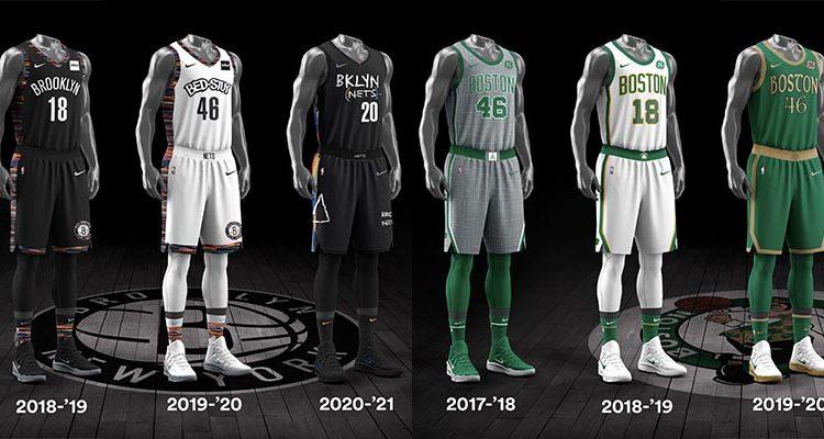 Brooklyn Nets Boston Celtics City Edition Uniforms-2