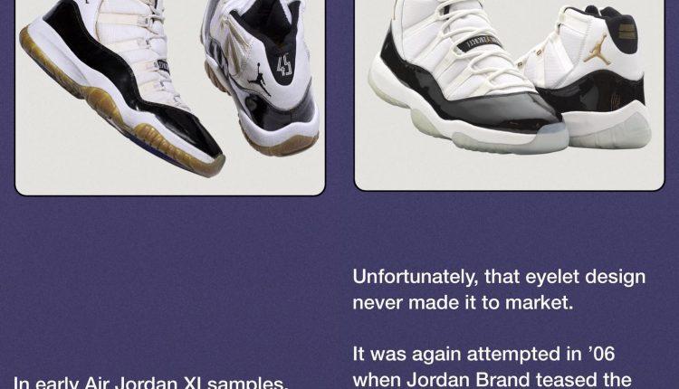 Nike SNKRS Air Jordan XI History (1)
