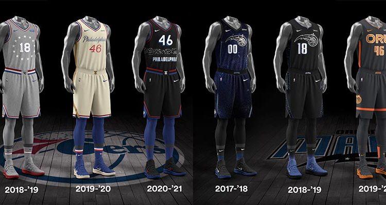 Philadelphia 76ers Orlando Magic City Edition Uniforms-13