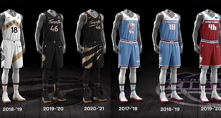 Toronto Raptors Sacramento Kings City Edition Uniforms-11